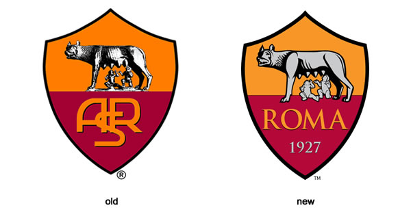 AS Roma Unveils Updated Brand Identity