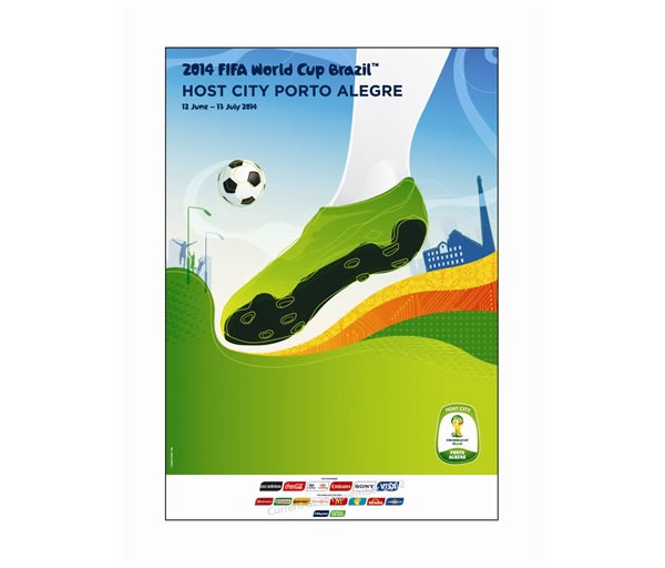FIFA World Cup 2014 Brazil Host City Posters