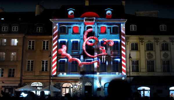 Coca Cola - 3D projection - EURO 2012
