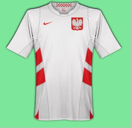 newest poland kit. home and away