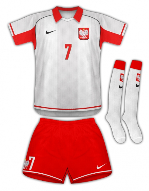 Poland/Nike Home Kit