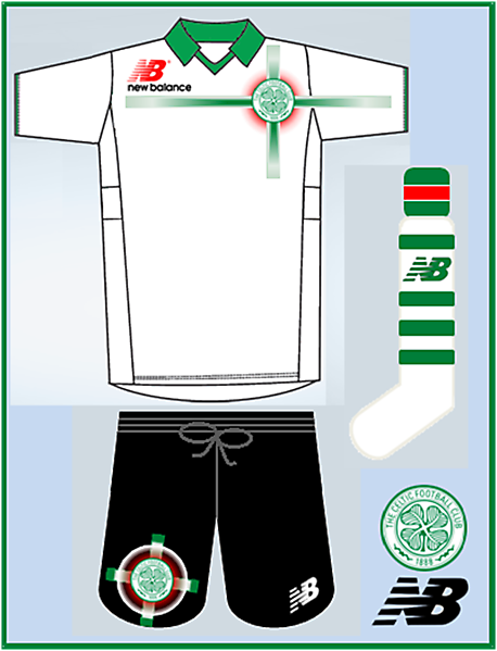 New Balance - Celtic Away Kit