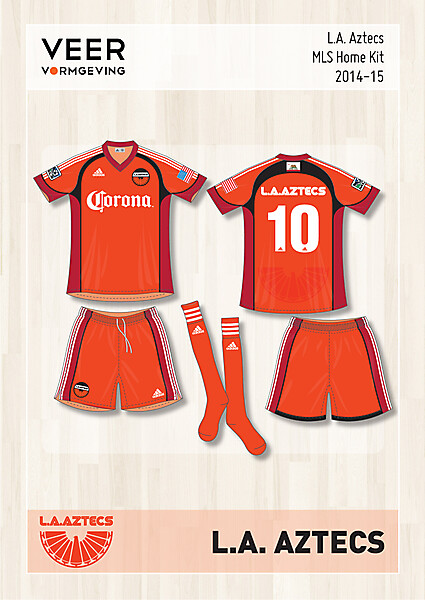 L.A. Aztecs Home kit 2014-2015