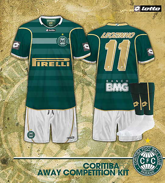 Coritiba FC Away kit