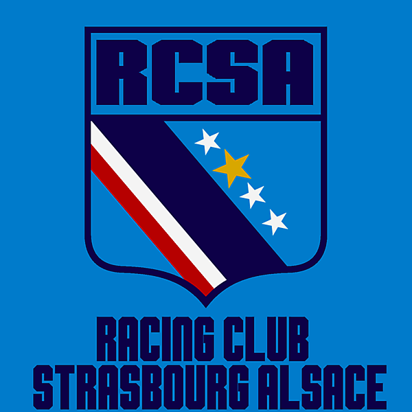 Racing Strasbourg redesign