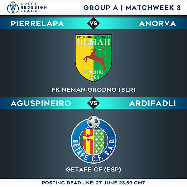 Group A - Matchweek 3