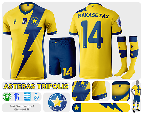Asteras Tripolis - Azure League Matchday 2