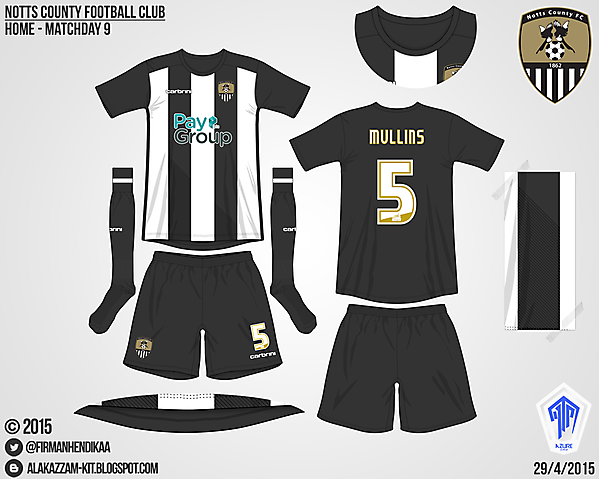 Notts County Home - Azure League, Matchday 9