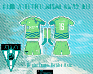 Club Atlético Miami Away Kit