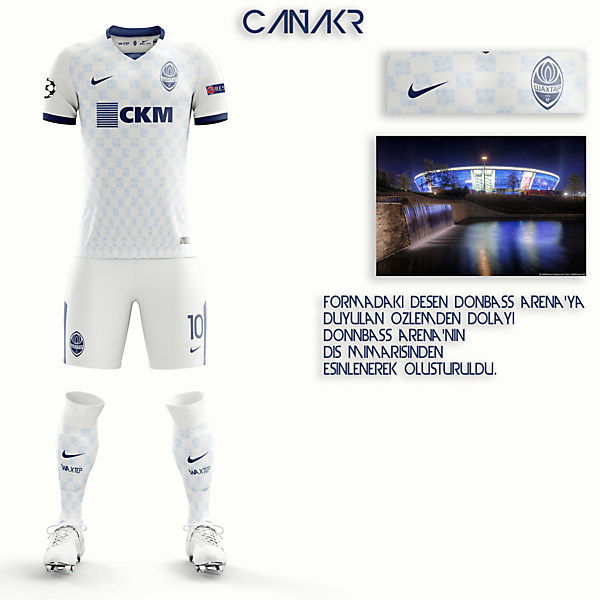 Shaktar Donetsk Away Kit