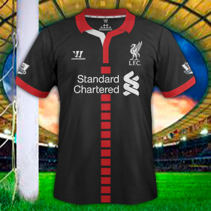 LIVERPOOL Away Warrior