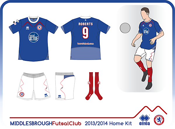 Boro Futsal Home Kit 13/14