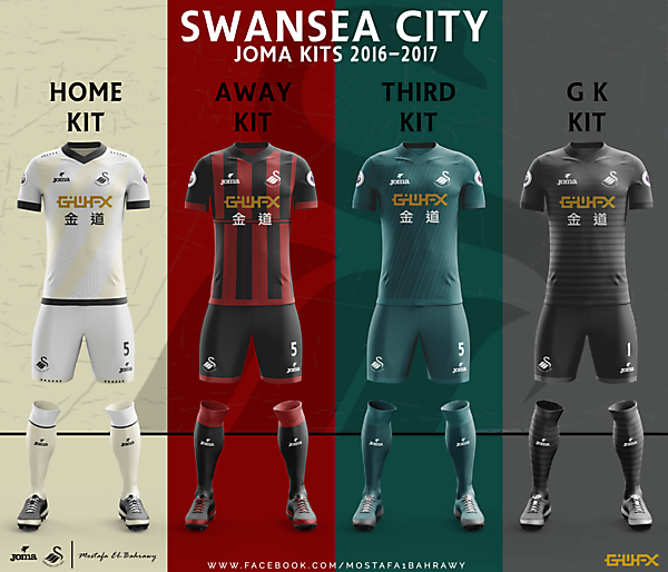 Swansea City Kits