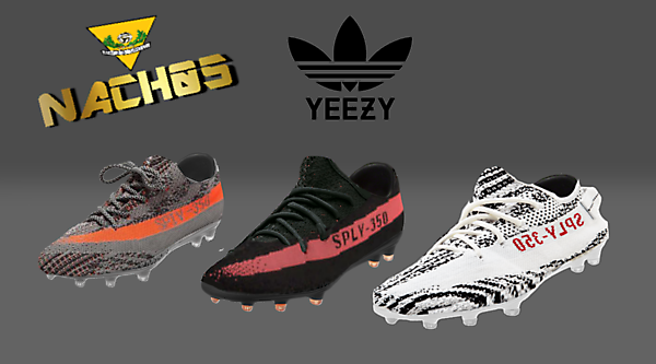 Adidas Yeezy 350 V2 Football Boots by NACH05