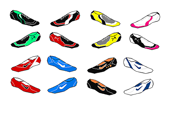 Nike Vapors and Puma Boot Designs