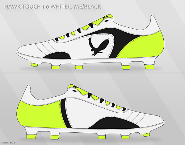 Hawk Touch 1.0 White/Lime/Black