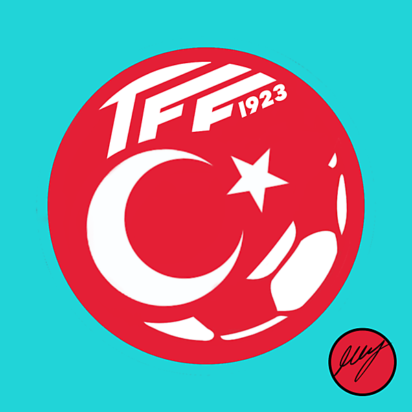 Turkey Football Federation Crest Redesign