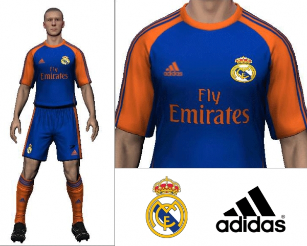 2014/15 Real Madrid Third Kit