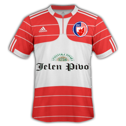 Red Star Belgrade Home Kit
