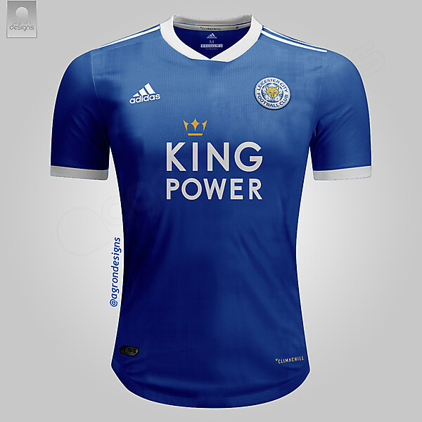 Adidas Leicester City Home Kit Concept