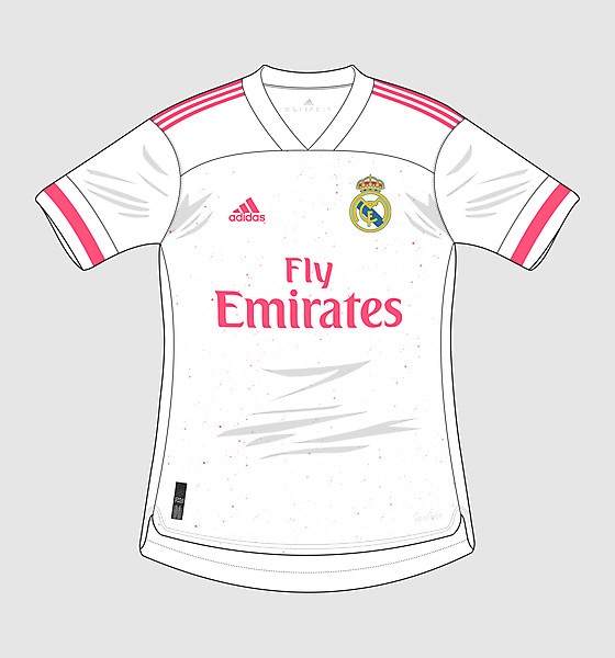 Adidas Real Madrid C.F. 2020-21 Home Jersey