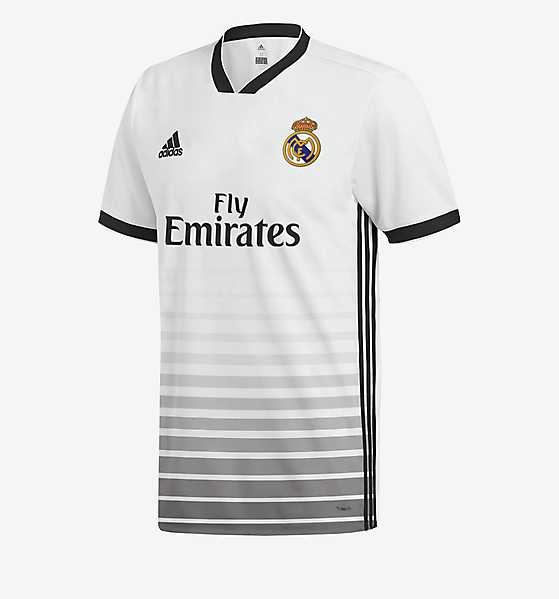 Adidas Real Madrid Home Jersey Concept