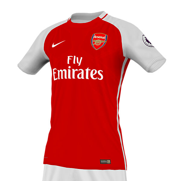 Arsenal 17 home x Nike