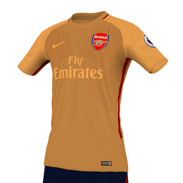 Arsenal 18 away x Nike