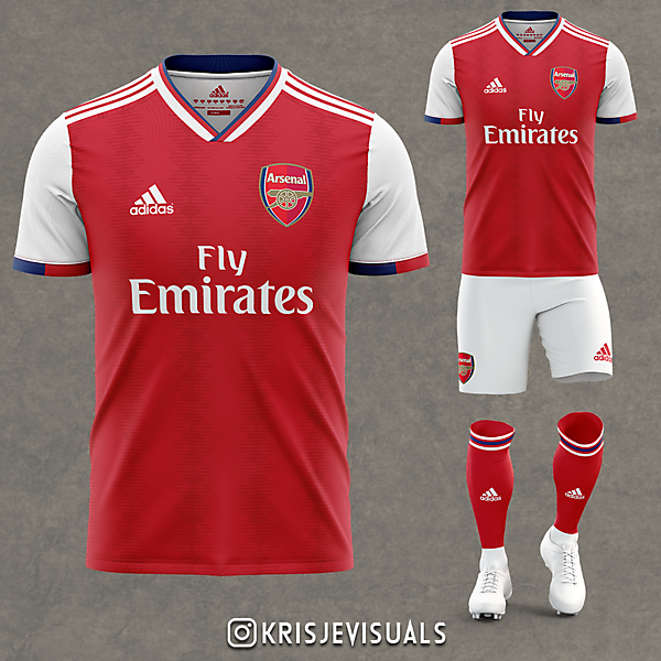 Arsenal x Adidas Home