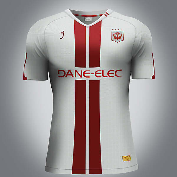 AS Nancy Lorraine home kit - by J sports