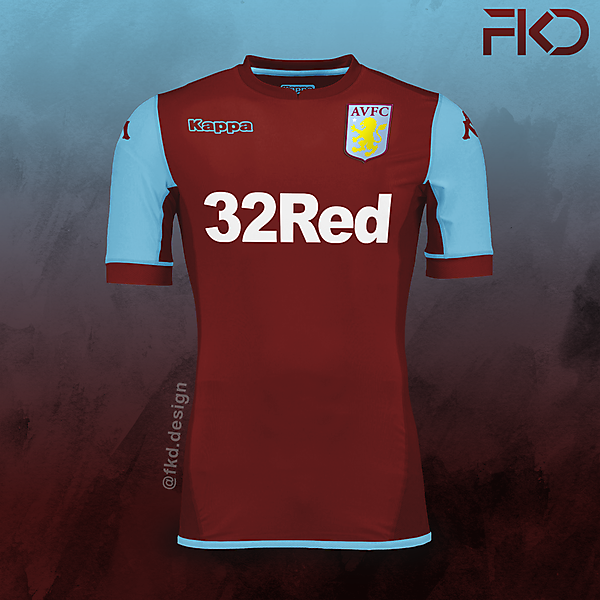 Aston Villa Kappa Home