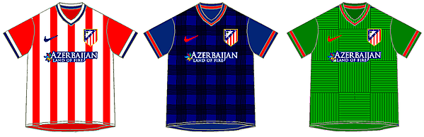 Atletico de Madrid - Nike Kits