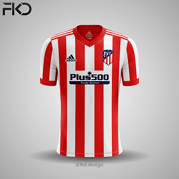 Atletico Madrid Adidas Home Kit Concept