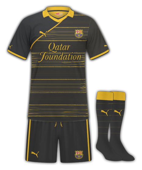 Barcelona Puma Away Kit