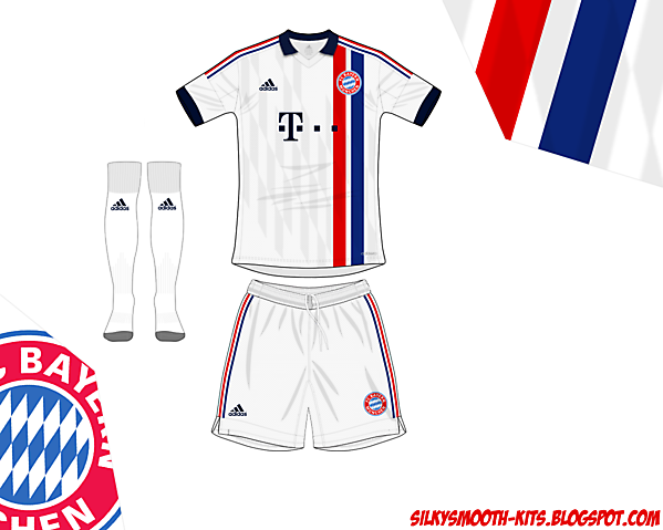 Bayern fantasy away Adidas - old design remade