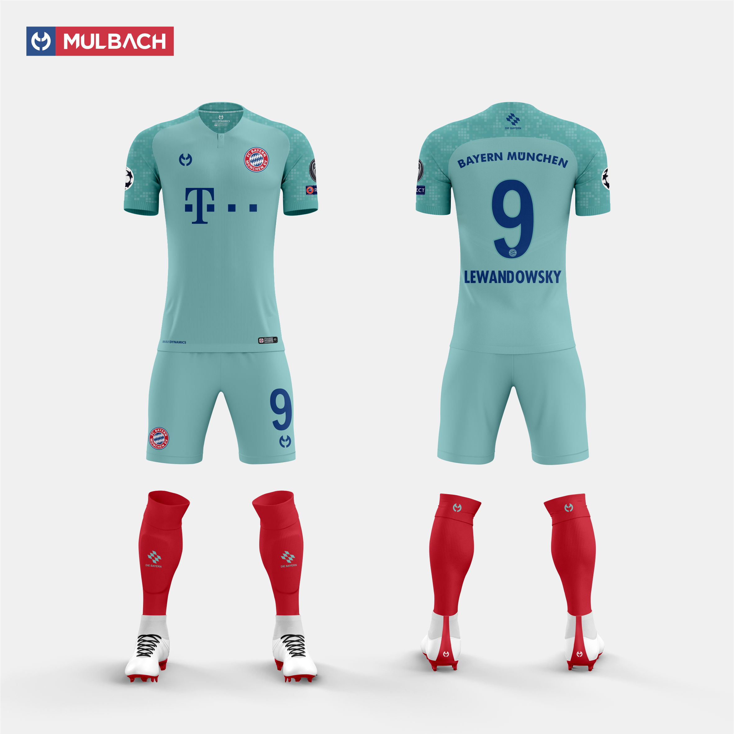 new product b8728 613a6 Bayern Munchen 2019/2020 Away Kit Concept