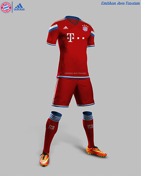 Bayern Munih Home Kit Design