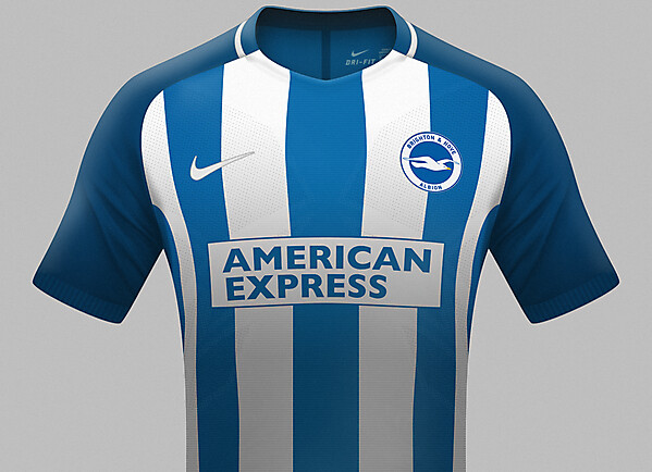 Brighton and Hove Albion kit 2017/18