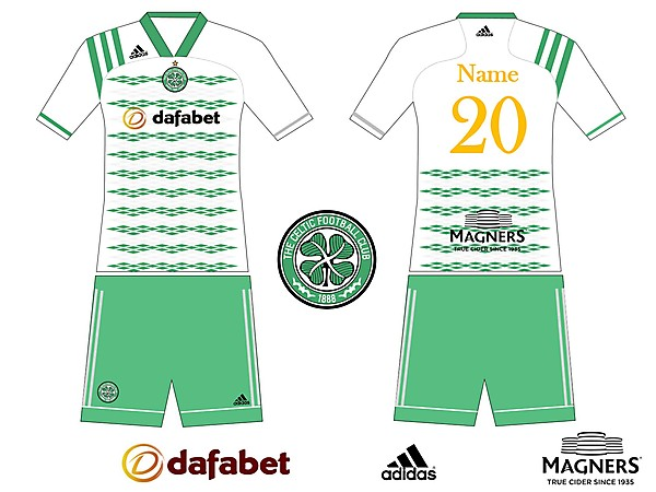 Ceeltic F.C. Home kit prototype 2020