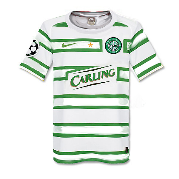 Nike Celtic Champions League Shirt