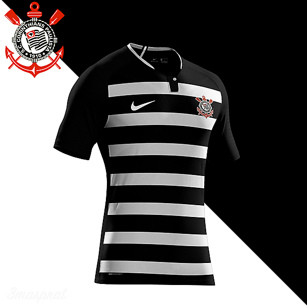 Corinthians Paulista Away Fantasy Kit