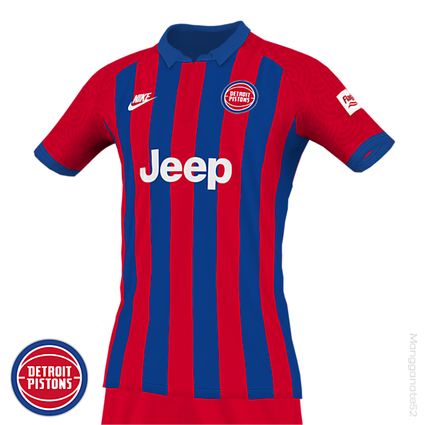 DETROIT PISTONS CONCEPT SOCCER KIT (ALTERNATE)
