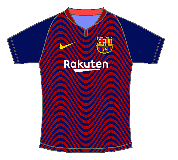 FC Barcelona home kit by #Sportix