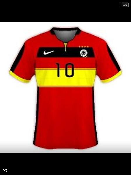Germany National Team Nike Away Kit Design [Please Comment]