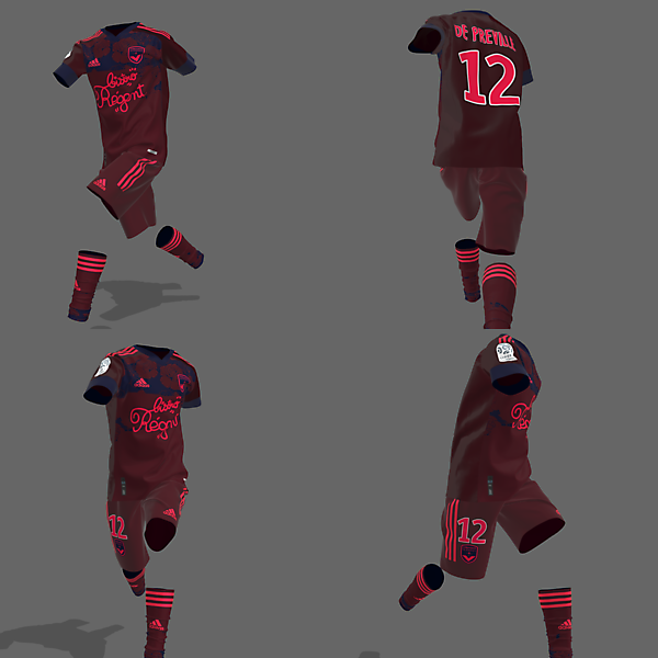 GIRONDIX DE BORDEAUX 3rd Kit [[[[CLO3D TEST]]]]