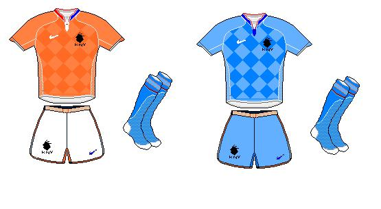Netherlands (KNVB) Home and Away