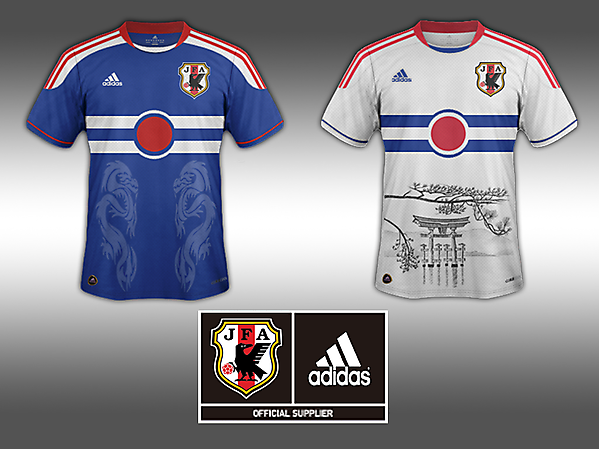 Home and Away Jersey-Japan
