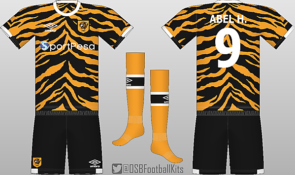 Hull City Throwback Kit