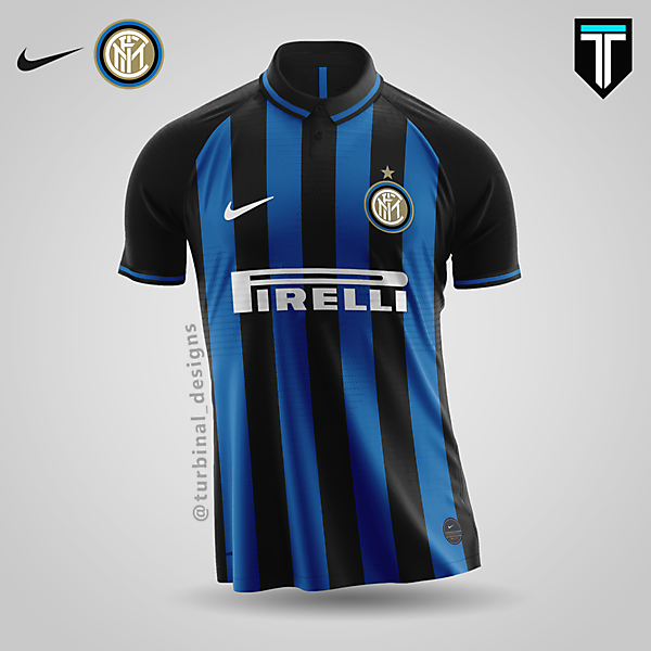Inter Milan x Nike - Home Kit Concept