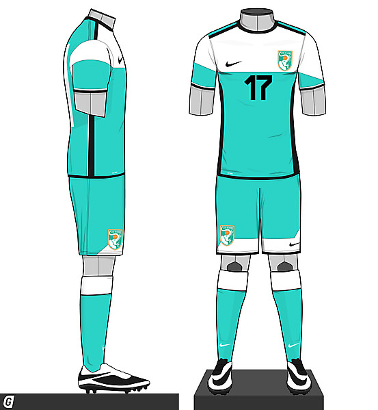 Ivory Coast - Away Kit 2015